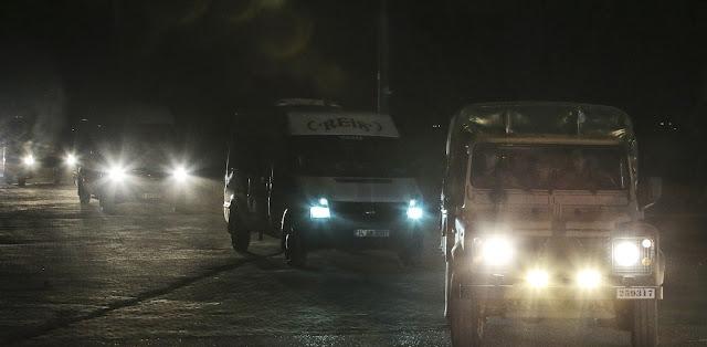 Μεταφορά Τούρκων κομάντο υπό δρακόντεια μέτρα στα σύνορα με τη Συρία