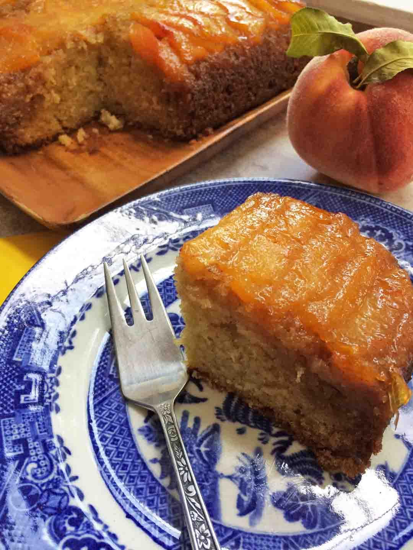 Old Fashioned Baltimore Peach Cake Recipe