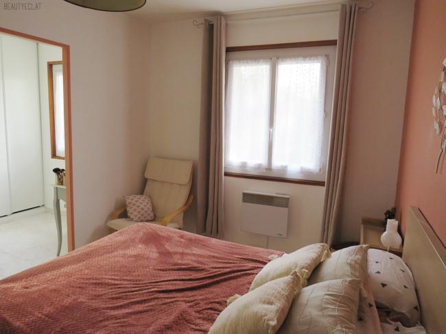 chambre rénovée avant apres