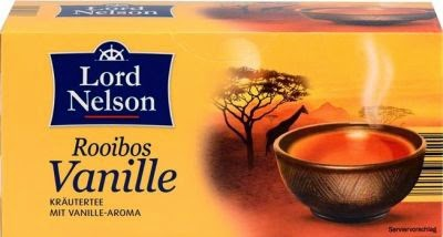 Lord Nelson Rooibos Tee Vanille
