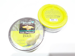 Herborist Lulur Tradisional Bali Zaitun Plus Whitening 100gr