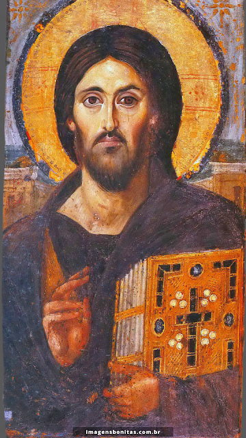 Wallpaper do Pantocrator para celular