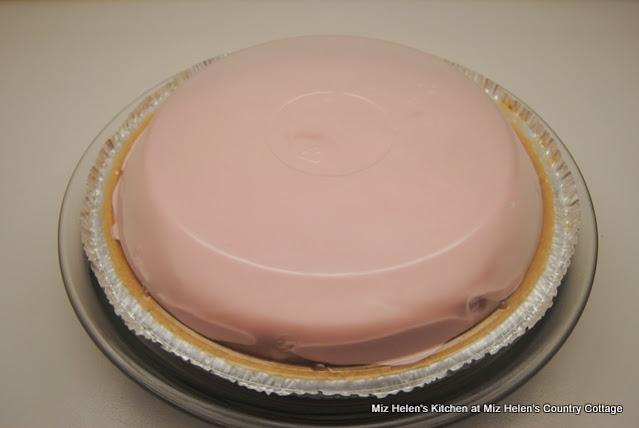 Pink Lemonade Ice Box Pie at Miz Helen's Country Cottage