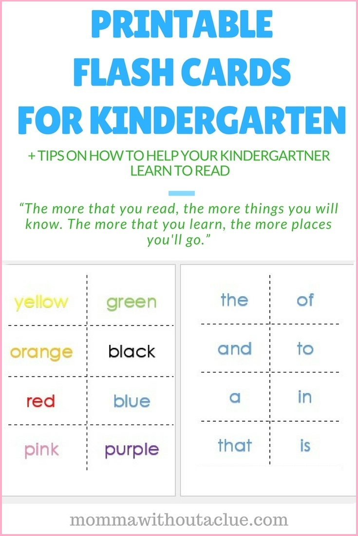 Worksheet Kindergarten Sight Words Printable Flash Cards printable sight word flash cards momma without a clue cards