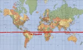 dunia kita: negara - negara yang di lalui garis khatulistiwa