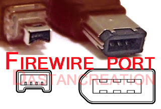 firewire port definition  firewire port for pc  firewire port mac  what does a firewire port look like  picture of firewire port  firewire types  firewire to usb  firewire to hdmi