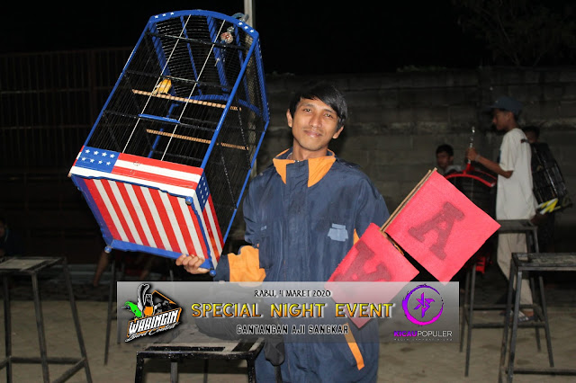 Jawara Kenari - Kenari Morgan milik Om Ridan dari tim PNS SF