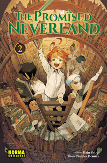 "Manga: Reseña de ""The Promised Neverland #2"" de Kaiu Shirai, Posuka Demizu - Norma Editorial"