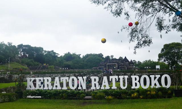 Keraton Ratu Boko Yogyakarta ©JelajahSuwanto