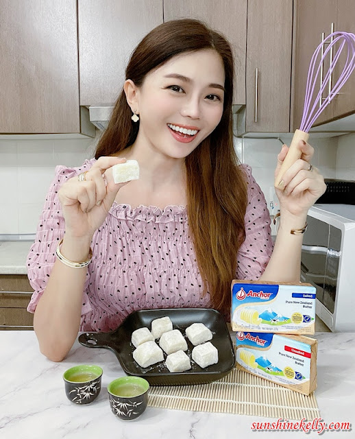 Anchor Butter Mochi Recipe, Anchor Butter, #DairyliciousMY #AnchorDairyMalaysia, Anchor Dairy Malaysia, Smooth Like Anchor Butter Challenge, Food