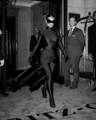 Kim Kardashian Batwoman Style