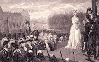 Marie Antoinette Before Her Execution
