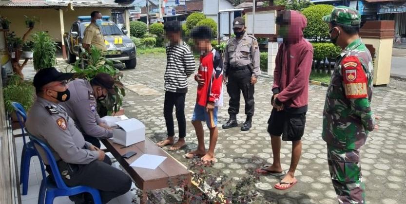 Bandel Tak Patuhi Prokes, 22 Pelanggar Terjaring Operasi Yustisi  di Kemangkon