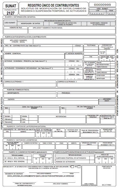 sunat formulariuo 2117