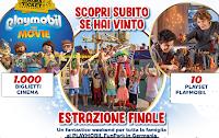 Logo Natale con Playmobil: vinci 1000 biglietti cinema, Playset e weekend Playmobil Germania