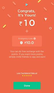truebalance app free recharge