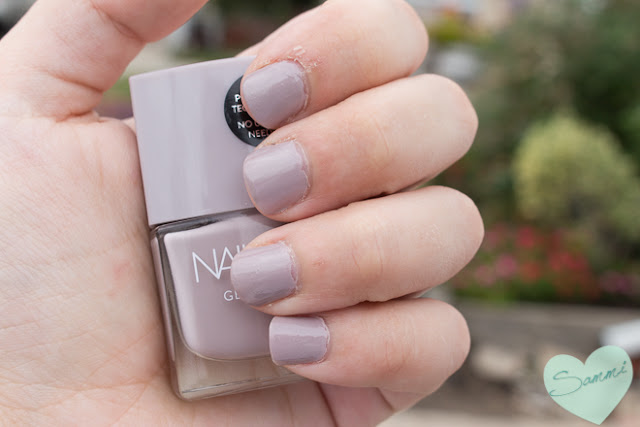 My New Year Beauty Resolutions for 2016 - Nails Inc Gel Effect Nail Polish in Porchester Square Swatch