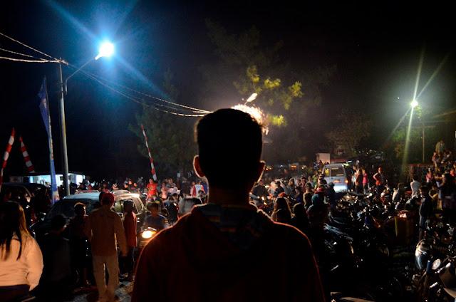 Malam 1000 Lampion, Bukit Kasih Kanonang Minahasa Sulawesi Utara