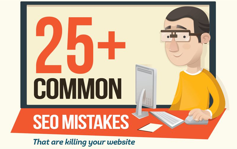 Common SEO Mistakes That Are Killing Your Website