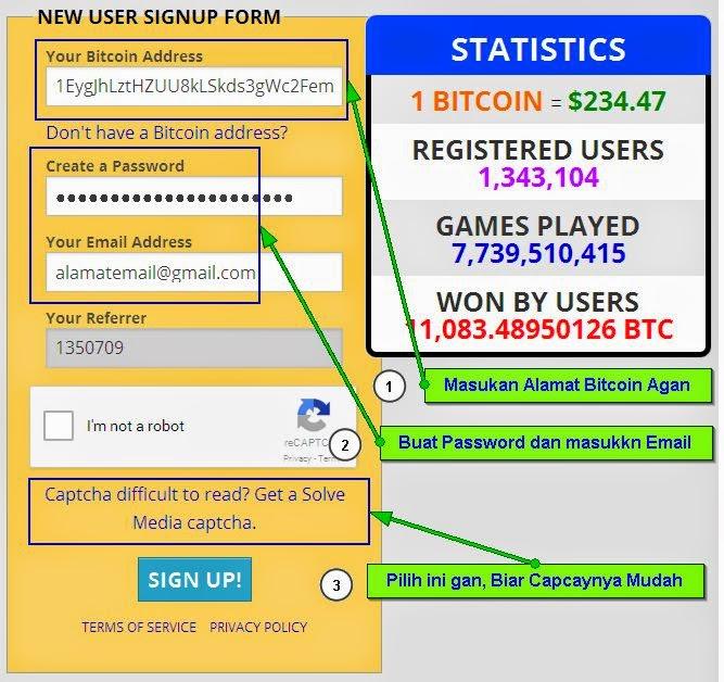Trik Bitcoin GRATIS per JAM