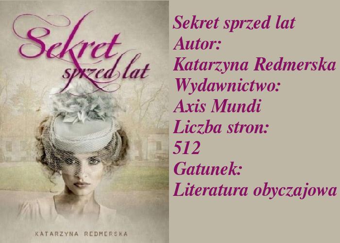 """Tajemnice, sekrety, kłamstwa, niedomówienia... """"Sekret sprzed lat""""."""