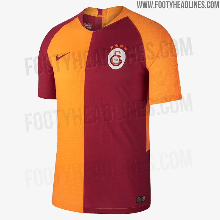Galatasaray 18 19 Home Kit Released   Footy Headlines Galatasaray 18 19 Home Kit