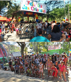 Prefeitura de Miracatu realiza festa em comemoração ao Dia das Crianças
