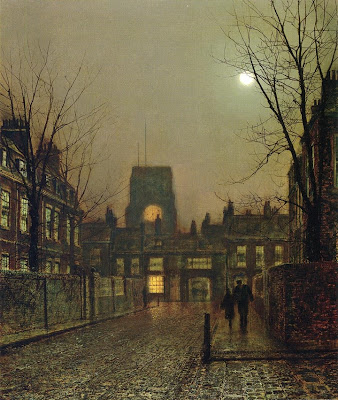 Atkinson Grimshaw 1836-1893 ~ British Victorian-era painter