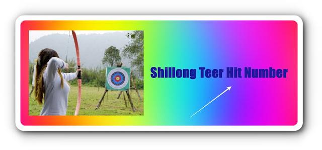 Shillong Teer Hit Number