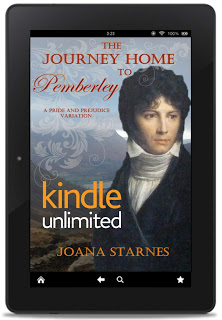 The Journey Home to Pemberley by Joana Starned
