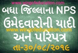 All District NPS List And Paripatra (30/08/2019) - www.wingofeducation.com