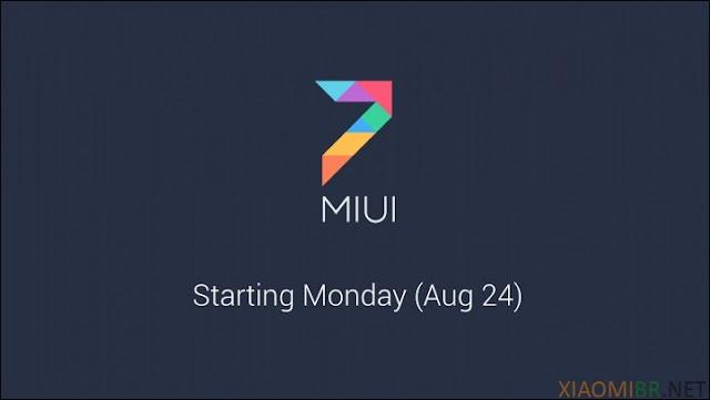 Lançamento ROM MIUI 7 - Download