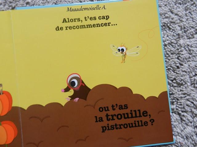 || T'as la trouille, pistrouille ? (Présentation & Avis)(Chut, les enfants lisent # 57)