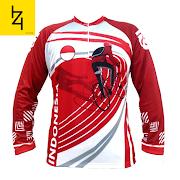 Jual jersey sepeda spesial hut kemerdekaan RI ke 75 bendera merah putih ukuran M L XL XXL 2XL