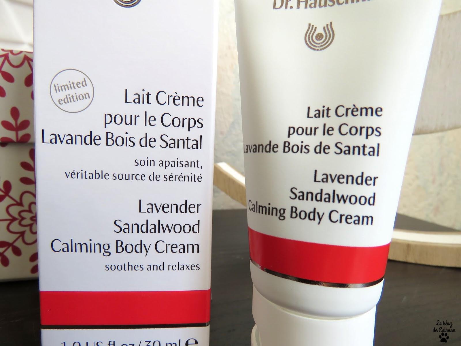 Lait Crème pour le Corps Lavande Bois de Santal - Dr Hauschka