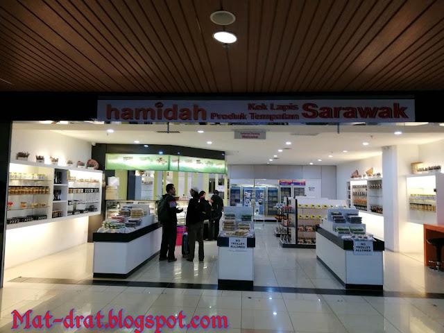 Kek Lapis Sarawak di Kuching Sedap