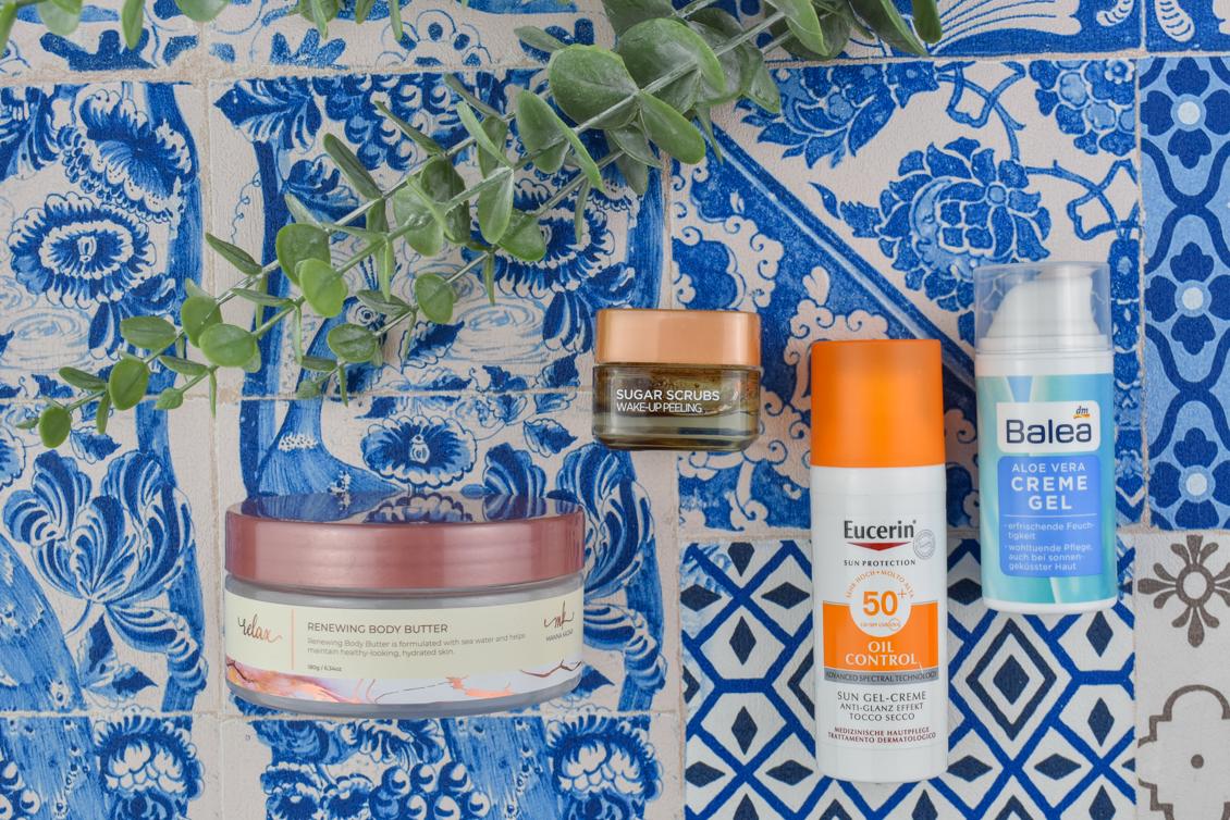 Aufgebraucht Beauty Produkte 2020 Gesichtspflege Haarflege Tuchmaske Eucerin Balea L'Oréal