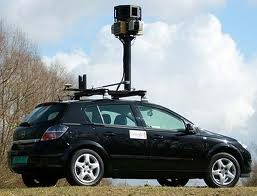 google car take photos at street view