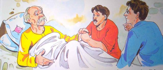 किसान और उसके आलसी बेटे In Hindi Short Story For Kids