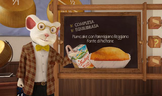 L'ABC della merenda dolce is a new sweet snack by Parmareggio