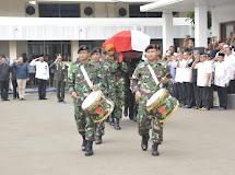 Sang Kapitan Elake Patiloe Manawa Kabaressi, Pulang ke Haribaan Ibu Pertiwi