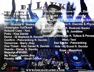 Dj Lakky, 9ja non stop mixtape, coolbaseafrica