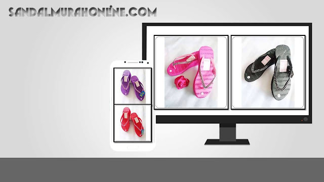 Pabrik Sandal Spon Wanita - Sandal Hak Tinggi Marlyn Mute
