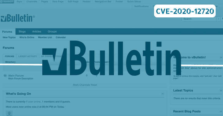 vBulletin software