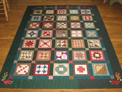Everyday Patchwork Sampler based on Cheri Payne's patterns
