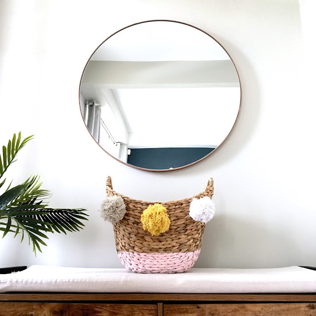 20 Stay Home DIY Home Decor Projects - DIY Paint Dipped Basket