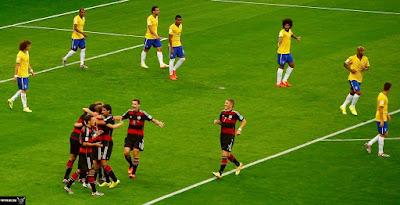 البرازيل و ألمانيا 2014