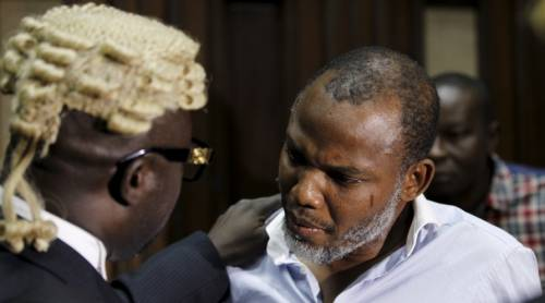 Nnamdi Kanu's Lawyer Sets Date To Visit Him In Department Of State Services' Custody Following His Absence In Court