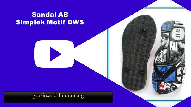 grosirsandalmurah.org - Sandal Pria - Sandal Motif Simplek AB DWS