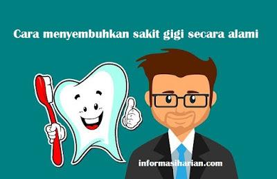 Cara Menyembuhkan Sakit Gigi Secara Alami